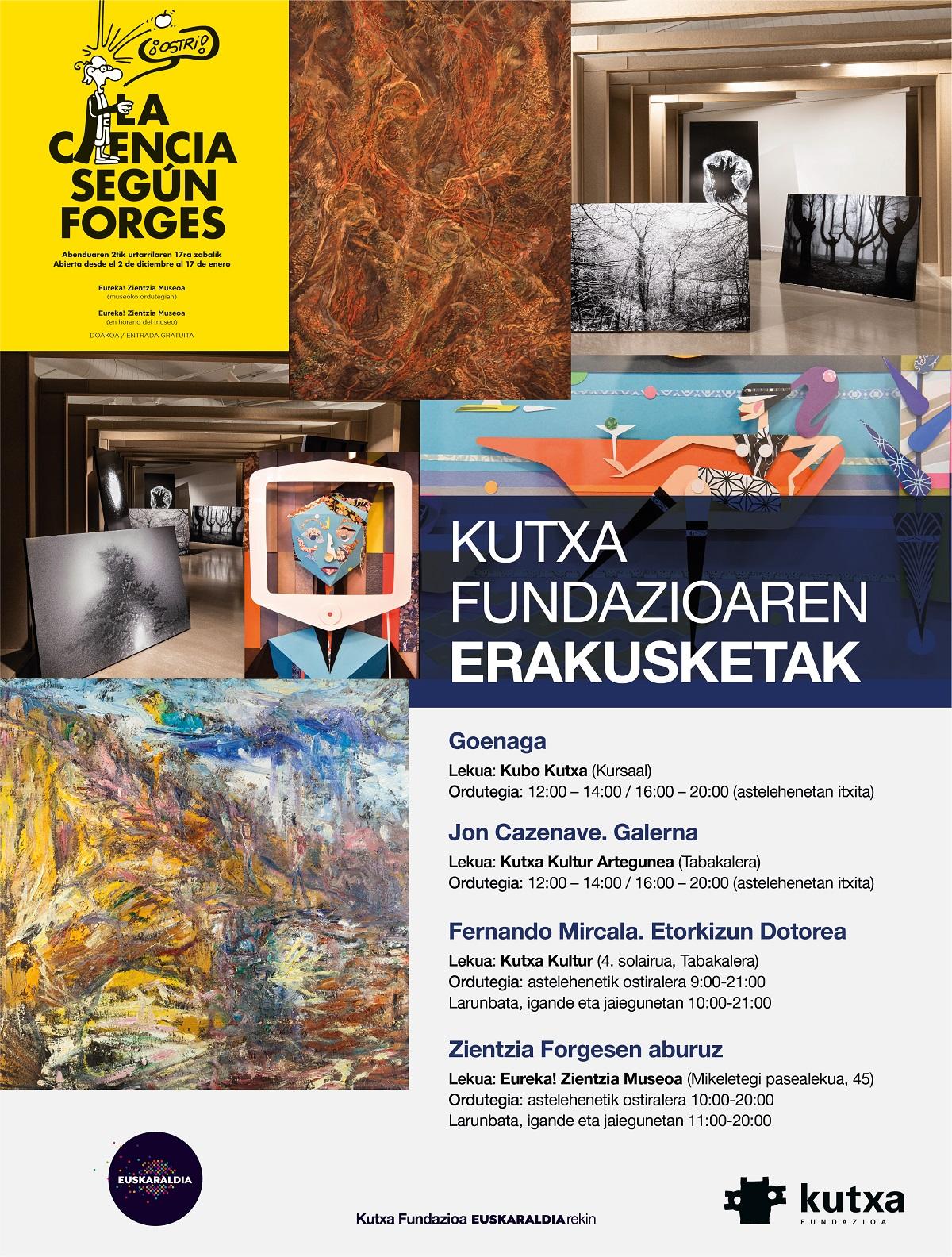 kutxa expos - Agenda del fin de semana donostiarra