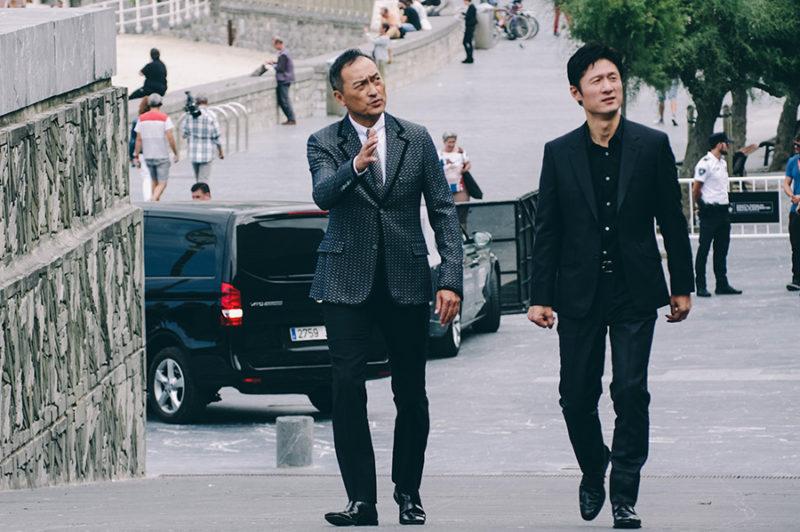 El actor Ken Watanabe y el director Sang-Il Lee, de 'Iraki'. // Foto: Santiago Farizano