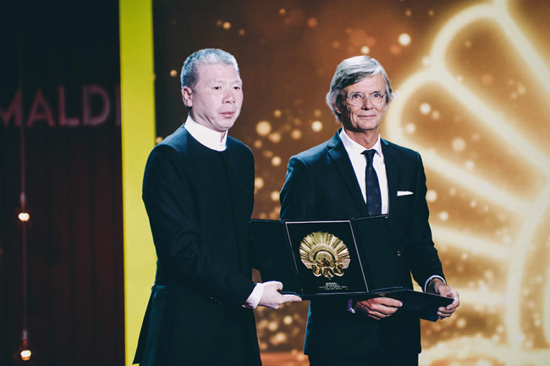Gala de clausura del 64 Donostia Zinemaldia. Concha de Oro a la Mejor Película para 'Im' Not Madame Bovary', de Xiaogang Feng. // Foto: Santiago Farizano