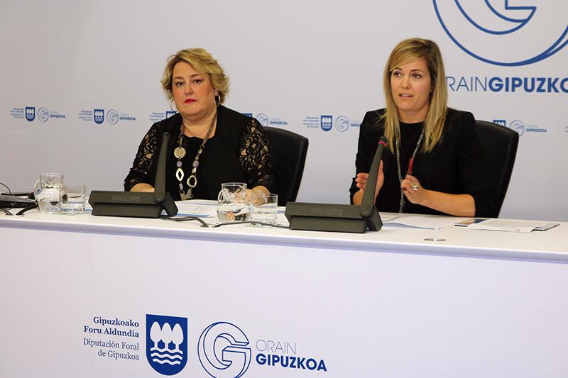 Presentación de la encuesta sobre las carreteras. Foto: Diputación.