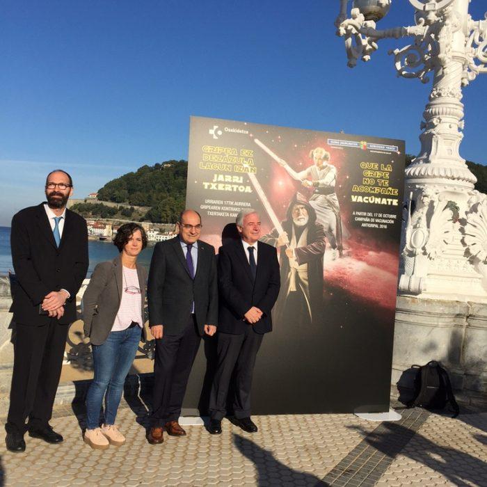 Imagen de la presentación de la campaña en octubre. Foto: Gobierno vasco