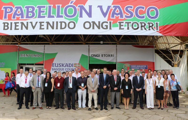 Empresarios vascos en la feria de Cuba. Foto: Gobierno vasco