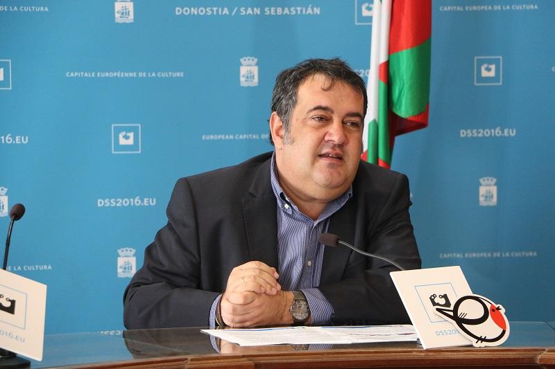 El concejal Ernesto Gasco. Foto: Ayto