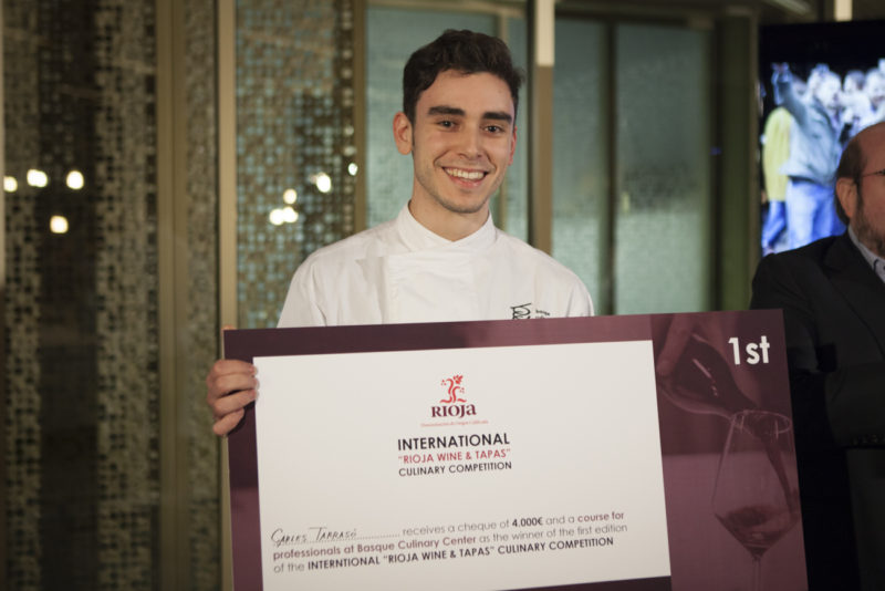 El ganador, Carles Tarrasó. Foto: BCC