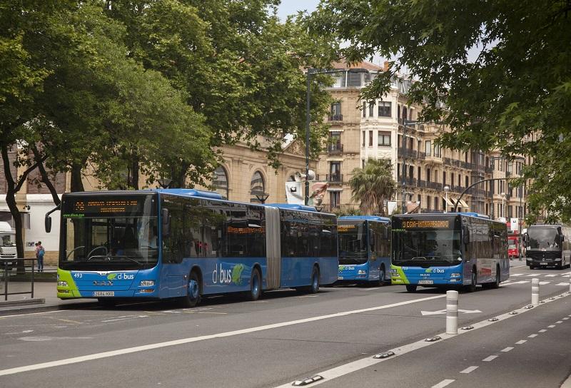 Autobuses de Dbus. Foto: Ayuntamiento