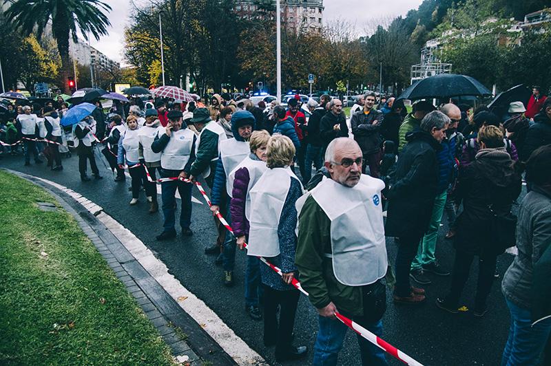 Imagen de la marcha de GuraSOS el pasado año. Foto: Santiago Farizano