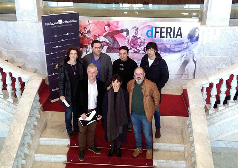 Presentación de Dferia hoy en el Victoria Eugenia. Foto: A.E.