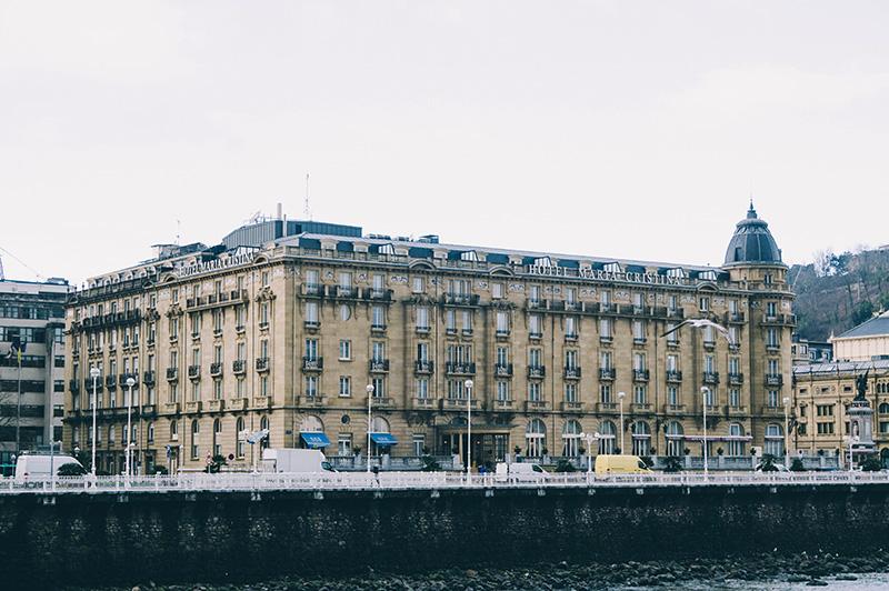 El hotel María Cristina. Foto: Santiago Farizano