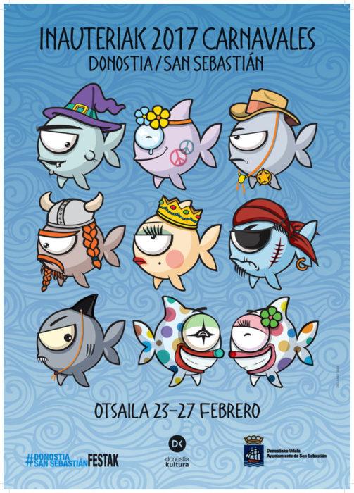 Cartel carnavalesco de 2017.