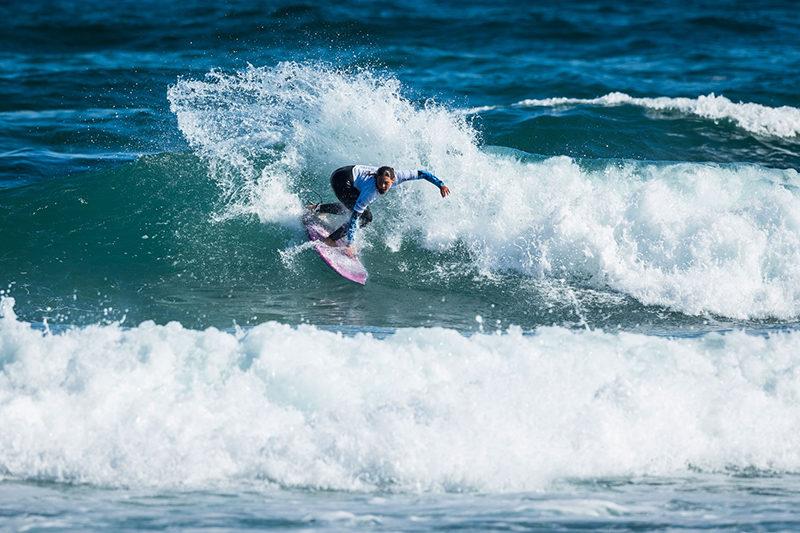 ProZarautz2017 NadiaErostarbeEUK©Poullenot WSL Las mujeres toman el PRO ZARAUTZ y demuestran el gran momento del surf femenino