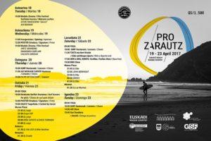 ZarautzPro2017_programa