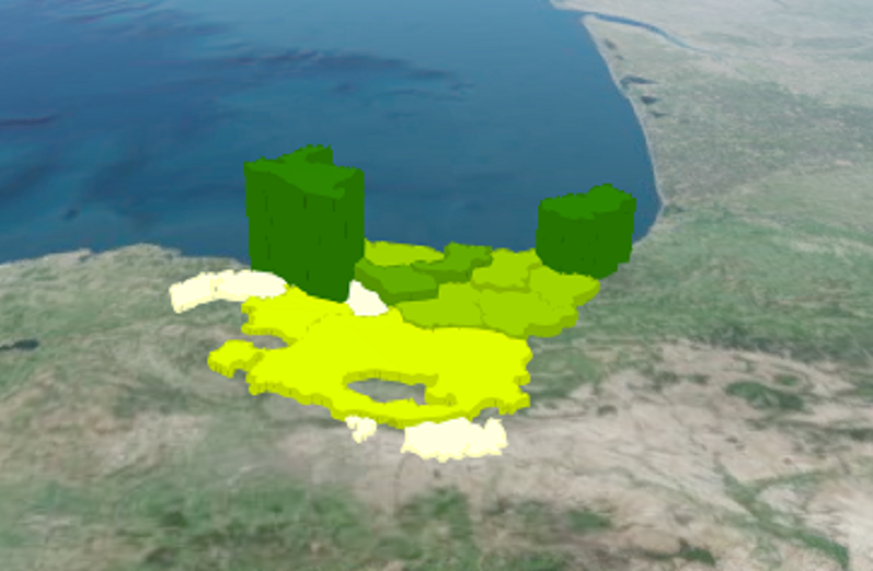 densidadpoblacion El nivel de densidad de población de Euskadi sólo es superado por Madrid