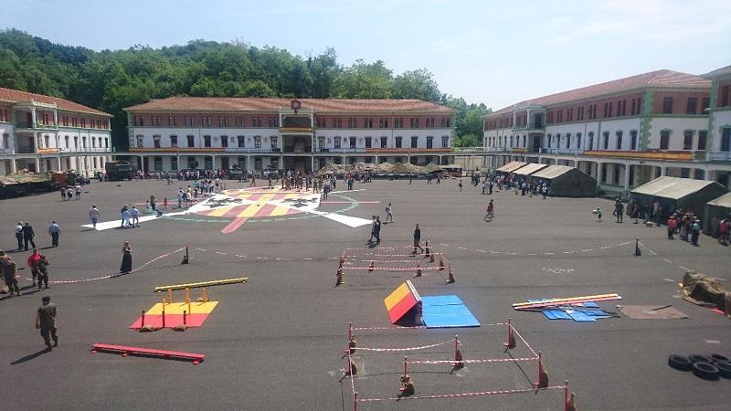 Foto: Jornada de puertas abiertas en el Cuartel de Loiola