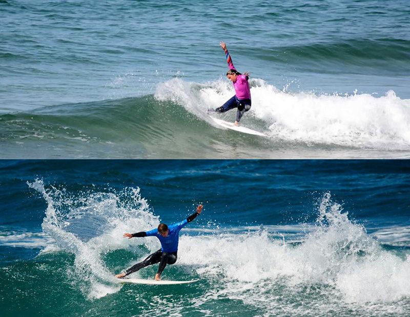 surf2 Maddi Aizpurua y Rubén Vitoria: desde Gipuzkoa al mundo en sus tablas