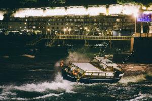 IMG5860 300x200 - Un barco en tierra y árboles caídos como resultado del temporal