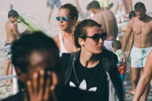 IMG2639 300x200 - La galerna anunciada por Euskalmet terminó con el día de playa