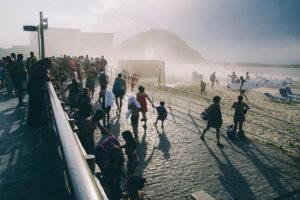 IMG2655 300x200 - La galerna anunciada por Euskalmet terminó con el día de playa
