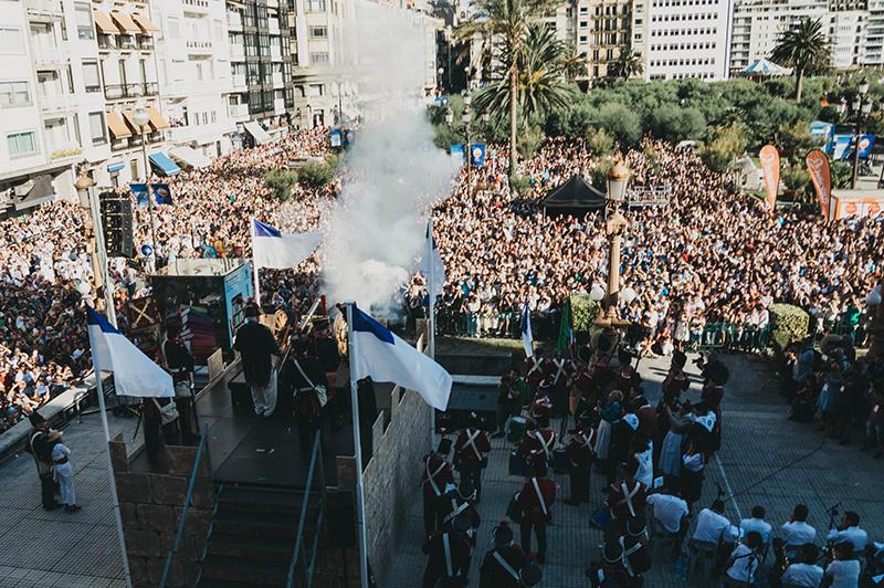 Inicio de fiestas de 2017. Foto: Santiago Farizano