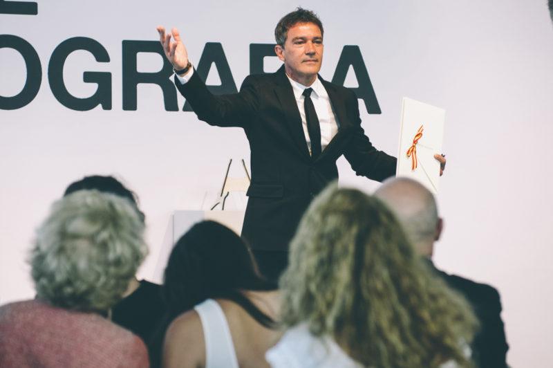 Antonio Banderas, Premio Nacional de Cinematografía. Foto: Santiago Farizano