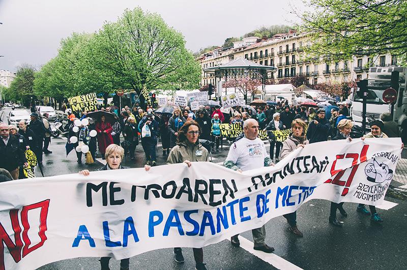 Manifestación de Satorralaia. Foto de archivo: Santiago Farizano