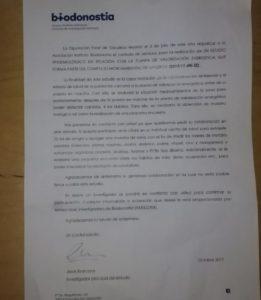 biodonostia 261x300 - El Movimiento Anti incineración llama a la desobediencia ante las peticiones de colaboración de Biodonostia