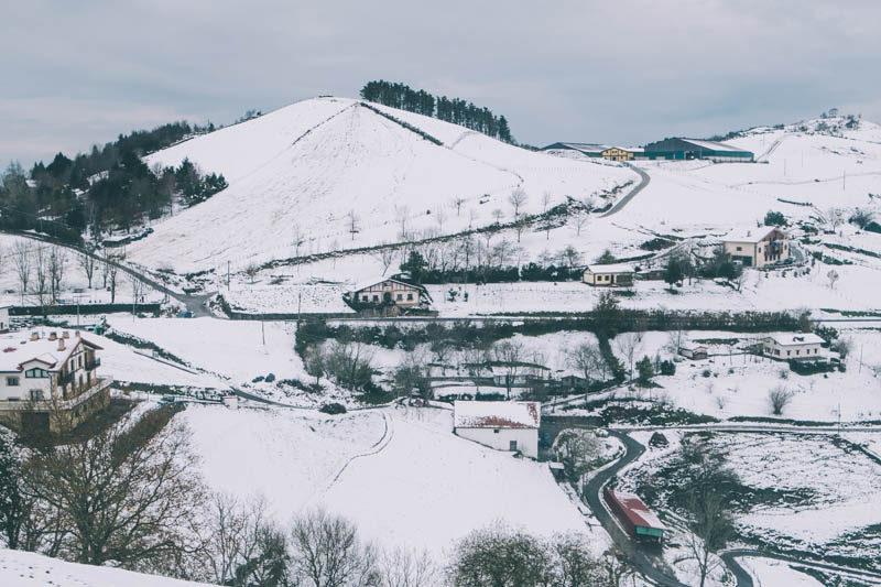 donostitik nieve 2017 13 Euskalmet advierte de un frente frío este miércoles