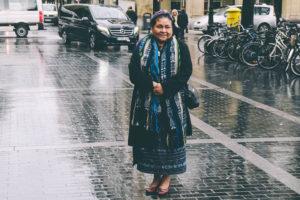 donostitik rigoberta menchu 03 300x200 - La Nobel de la Paz, Rigoberta Menchú, llega a Donostia para participar en 'Gure Lurra'