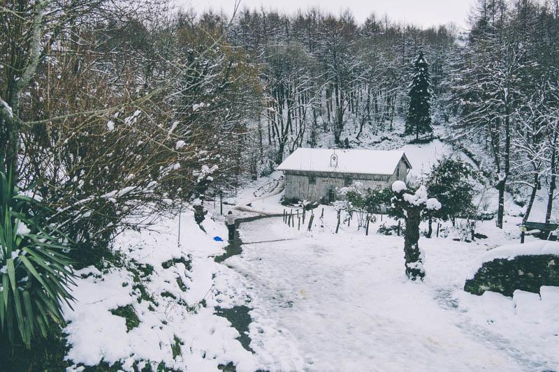 Imagen de la última nevada de diciembre. Foto: Santiago Farizano