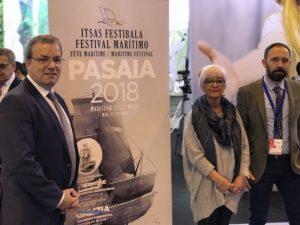 Fitur Pasaia 300x225 - Jornada intensa en Fitur para la promoción gipuzkoana