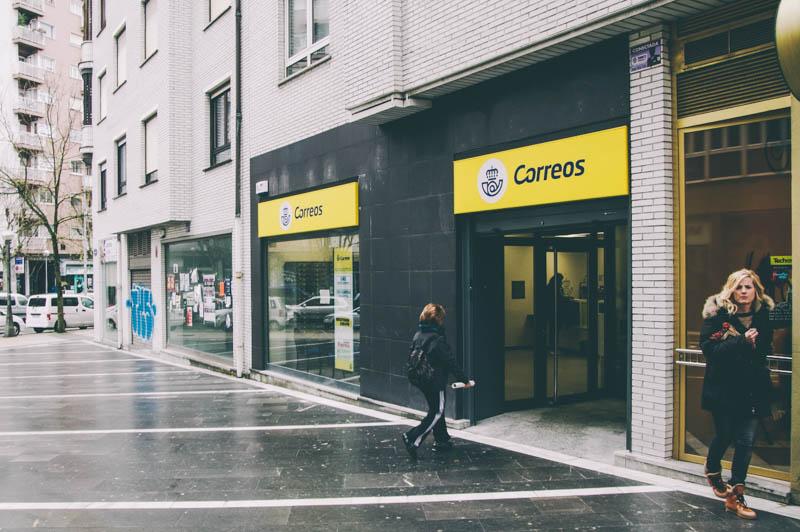 Oficina de Correos en Amara Berri. Foto de archivo: Santiago Farizano