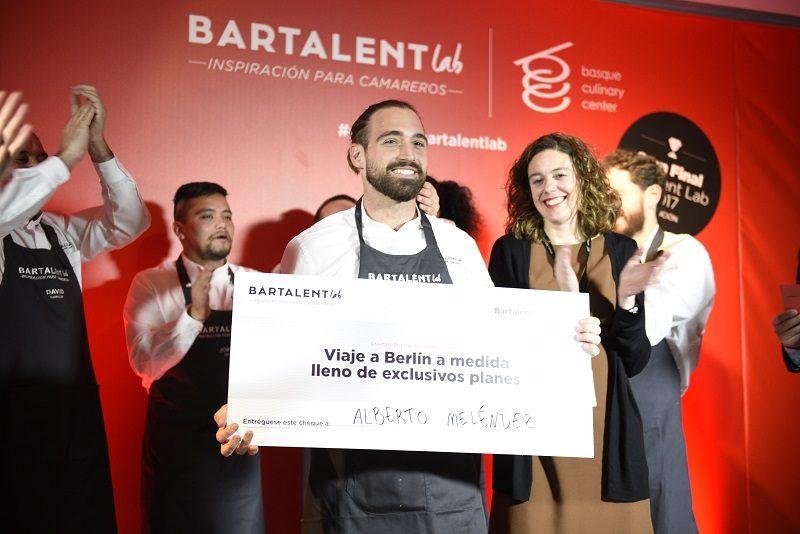 Alberto Melendez Bartalent 2017 Un camarero de Algeciras gana el Bartalent 2017 celebrado en el Basque Culinary Center