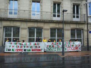 Bidebieta Parlamento2 300x225 - Rechazada la moción sobre el instituto de Bidebieta en el Parlamento vasco