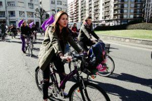 LRM EXPORT 20180308 113608 800x534 8M: Con la 'bicicletada desobediente' comienzan las movilizaciones feministas