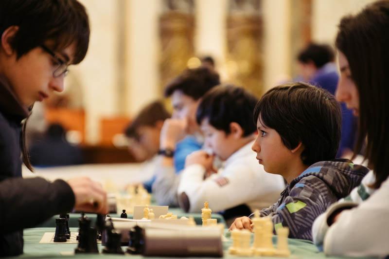 Torneo de ajedrez el pasado año en el Ayuntamiento. Foto: Santiago Farizano