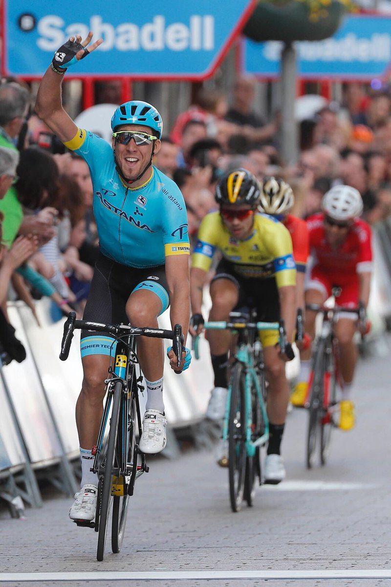 Itzulia5 Omar Fraile, ganador de la quinta etapa de la Itzulia