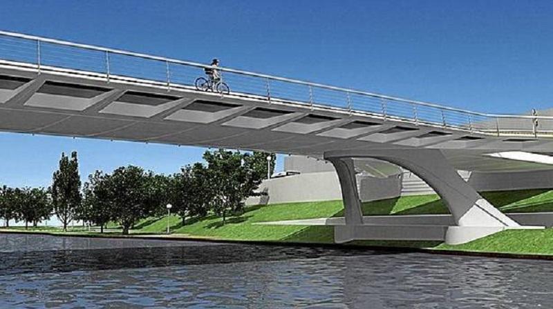 Imagen del diseño del futuro puente.