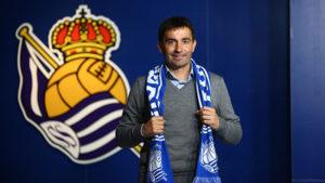 Foto Garitano 2 300x169 - Asier Garitano ya es entrenador de la Real Sociedad