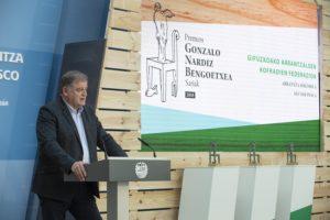 Nardiz2 300x200 - La Federación de Cofradías de Pescadores de Gipuzkoa recoge el Premio Nardiz