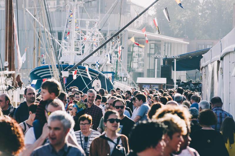 Imagen del Festival Marítimo de Pasaia en 2018. Foto: Santiago Farizano