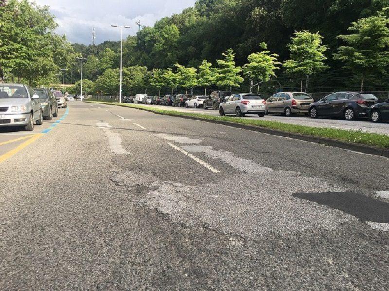 asfaltado Casi un millón de euros para el asfaltado de catorce calles y rotondas en Donostia