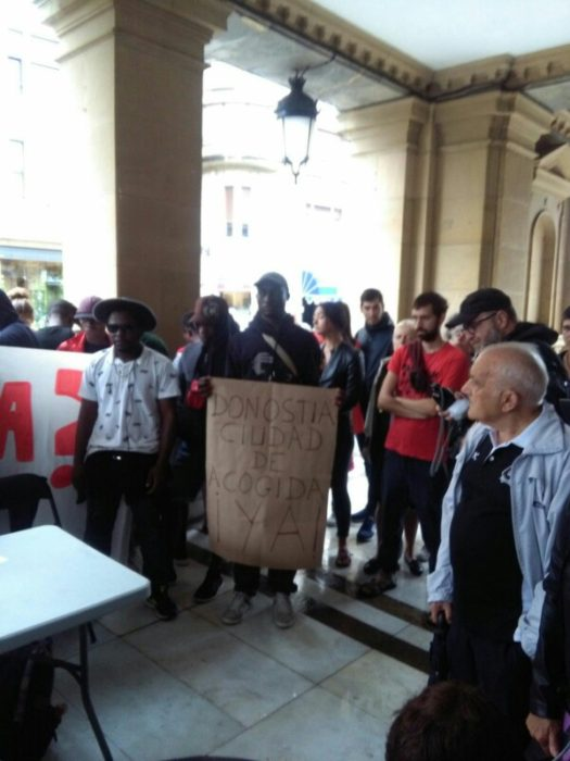 IMG 20180813 WA0003 Migranteak: Baliabide gehiago eskatu dizkiete instituzioei