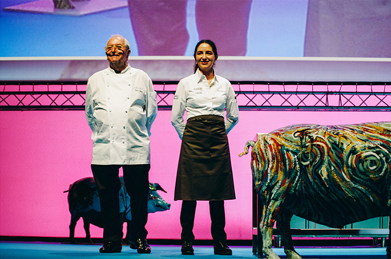 Imagen de archivo. Juan Mari y Elena Arzak en una imagen de Gastronomika. Foto: Santiago Farizano
