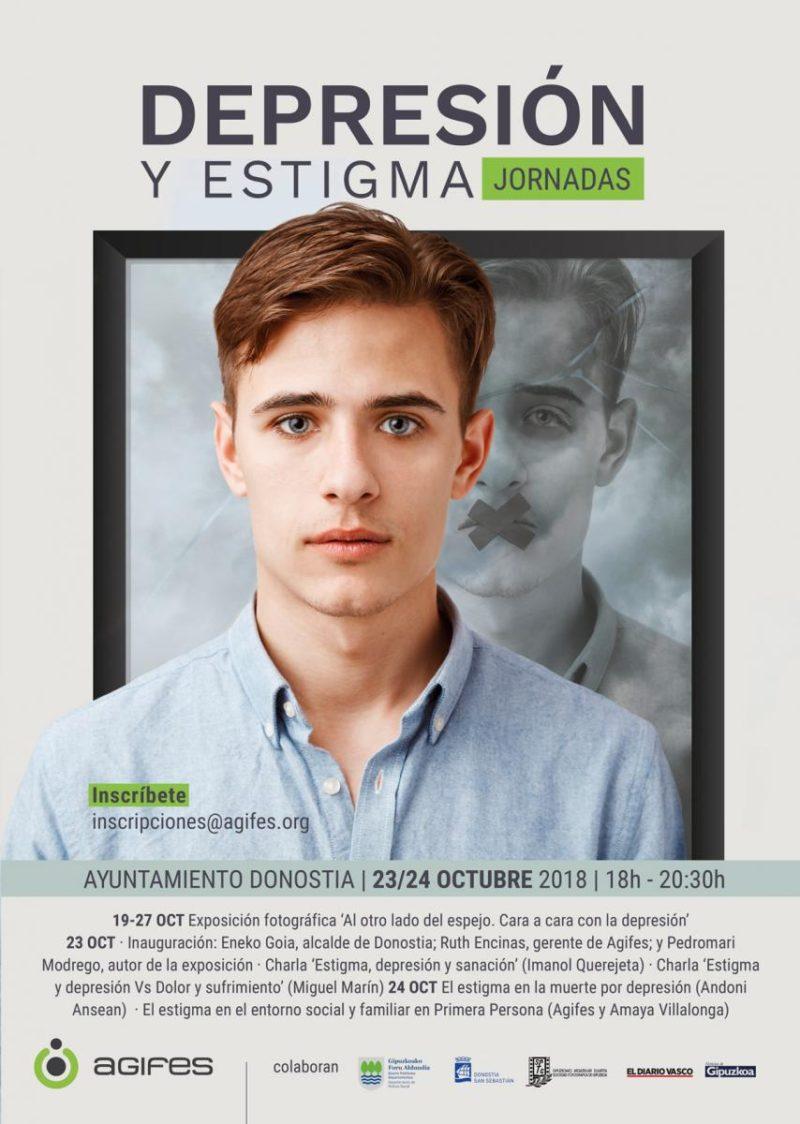 depresion Agifes organiza en Donostia unas jornadas sobre el estigma de la depresión