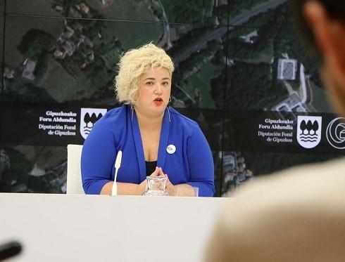 La diputada de Políticas Sociales, Maite Peña, en imagen de archivo. Foto: Diputación de Gipuzkoa.