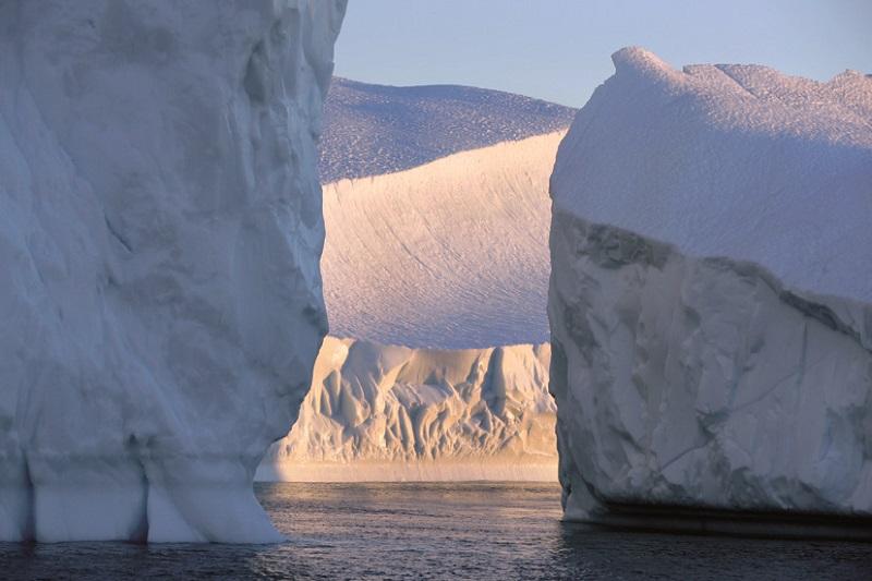 Imagen de la exposición 'El Ártico se rompe'. Foto: Ayto.