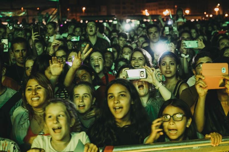 Público de uno de los conciertos de la última Aste Nagusia.