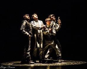 Lo mejor de Yllana, que se podrá ver desde hoy en el Teatro Principal.