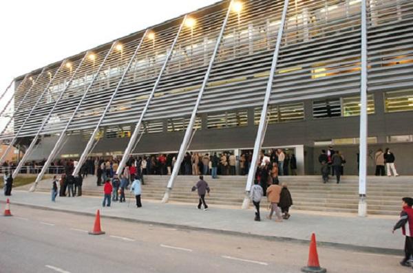 Pabellón Barris Nord de Lleida, sede del torneo. Foto: Mapio.net.