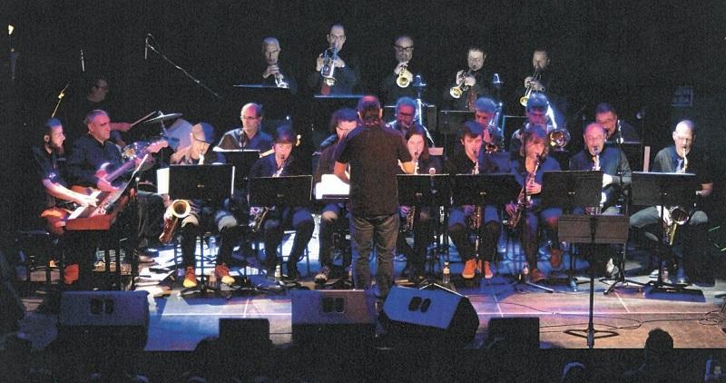Big Band de la Escuela Municipal de Música y Danza de Donostia. Foto: Ayto.