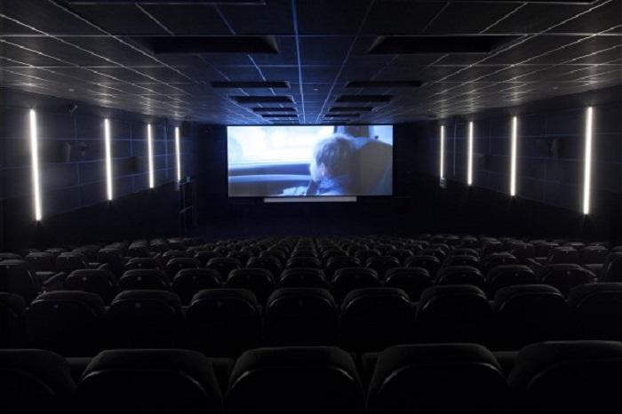 Sala de cine de Tabakalera. Foto: Tabakalera.